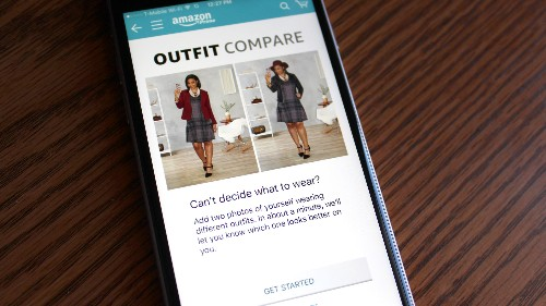 "Amazon will now tell Prime members what to wear via a new ""Outfit Compare"" feature"