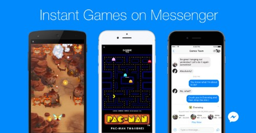 Facebook Messenger launches Instant Games