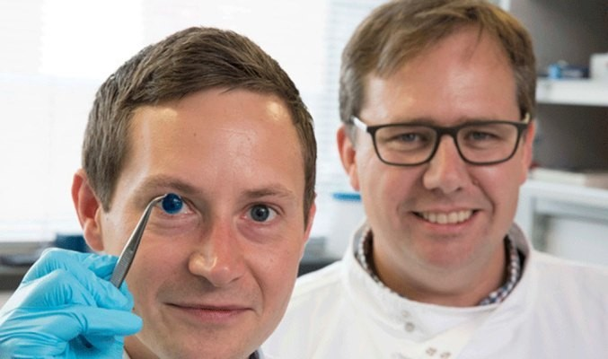 Researchers create the first 3D-printed corneas