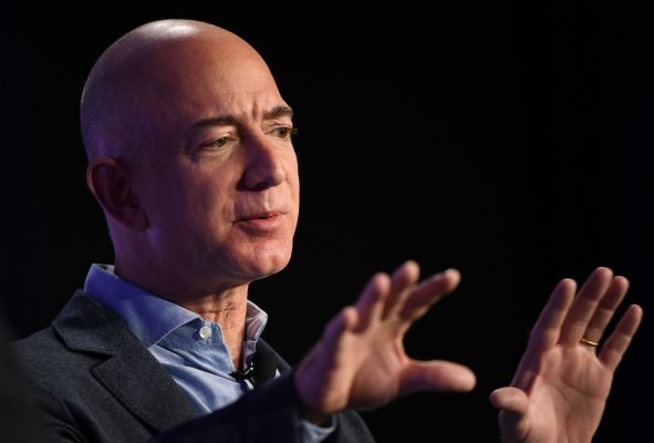 Jeff Bezos on space, free speech and creating shows to sell more shoes
