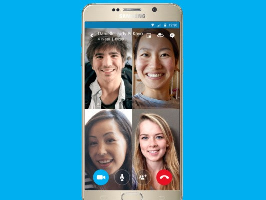 Skype Brings Group Video Calls To Mobile Devices