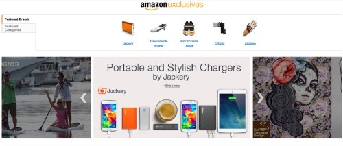 """Amazon's New """"Exclusives"""" Shop Showcases Up-And-Coming Brands And """"Shark Tank"""" Products"""