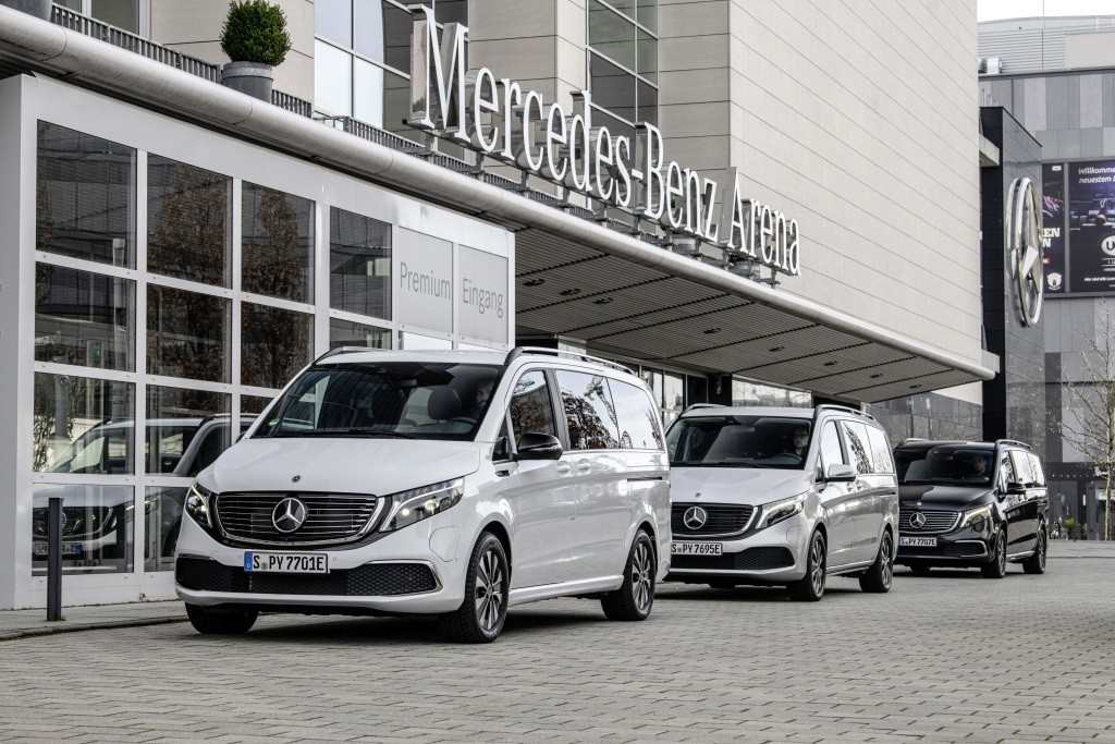 Mercedes-Benz launches sales of its premium all-electric EQV van