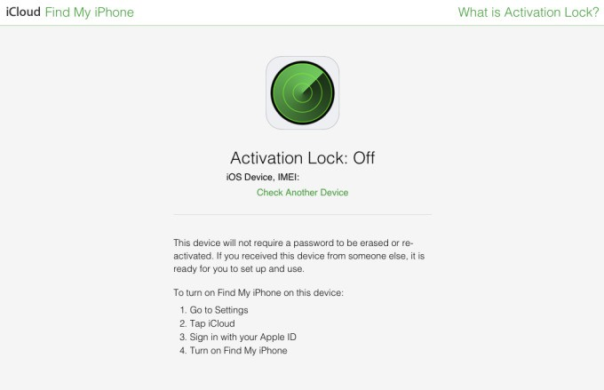 Apple Now Lets You Check If An iPhone Is Stolen Before You Buy It