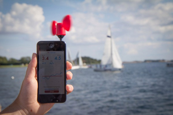 Vaavud Raises $375K To Tame The Wind With Your Smartphone