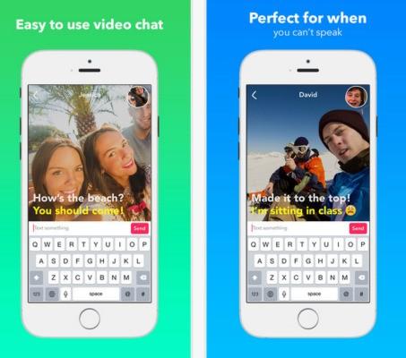 Yahoo Unveils Its Audio-Free Video Messaging App, Livetext