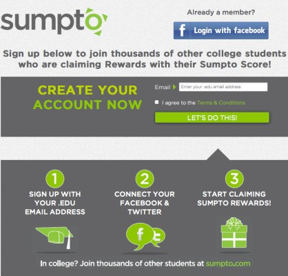 Sumpto Wants To Be The Klout For College Students