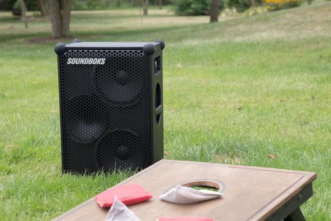 The New Soundboks is a massive, pro-level, battery-powered Bluetooth speaker