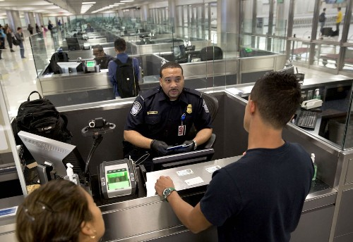 U.S. border officials are increasingly denying entry to travelers over others' social media