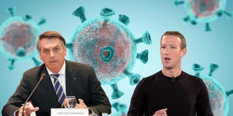 Facebook deletes Brazil President's coronavirus misinfo post – TechCrunch