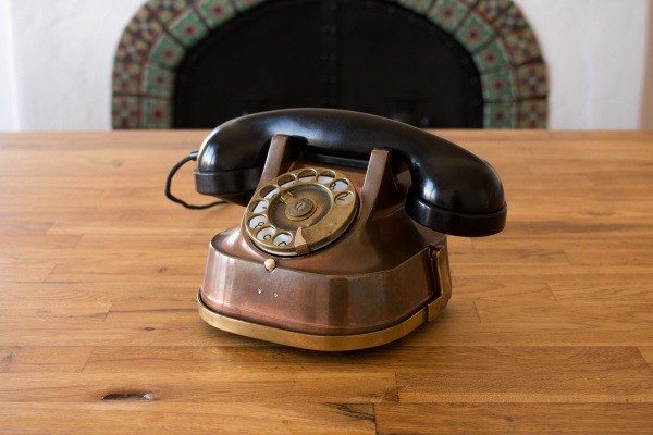 These antique phones are precious, private Alexa vessels