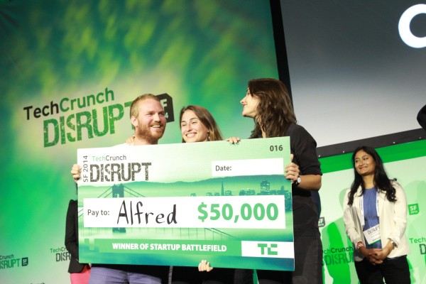 And The Winner Of TechCrunch Disrupt SF 2014 Is…Alfred!