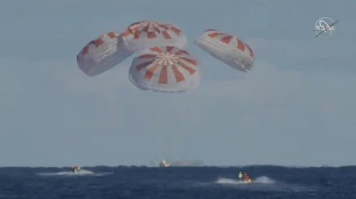 SpaceX makes history by completing first private crew capsule mission
