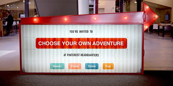 """Pinterest Plans """"Choose Your Own Adventure"""" Product Announcement For April 24"""