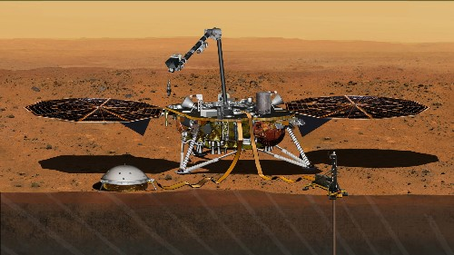 NASA's next Mars mission scheduled for May 2018