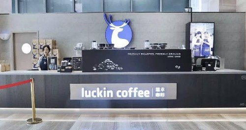 China's fast-growing Starbucks competitor Luckin Coffee just filed to go public on the Nasdaq