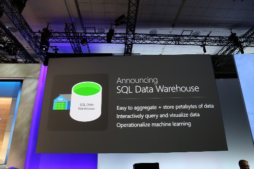 Microsoft Introduces Azure SQL Data Warehouse