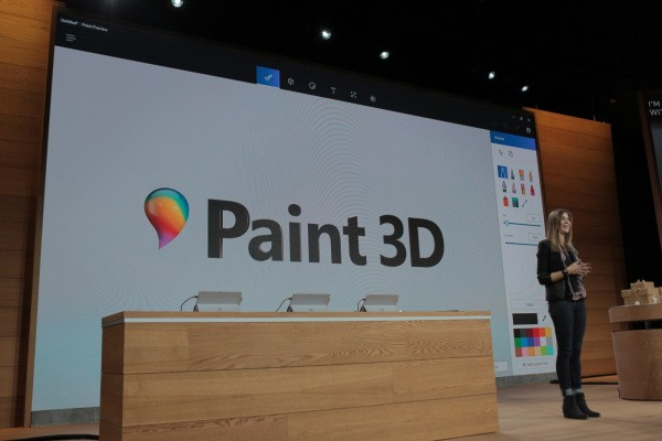 This is Microsoft's Paint 3D for the Windows 10 Creator's Update