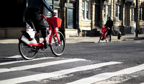 Uber acquires bike-share startup JUMP