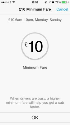 Hailo Ups Its Minimum Fare In London To £10, Triggers Licensing Complaints