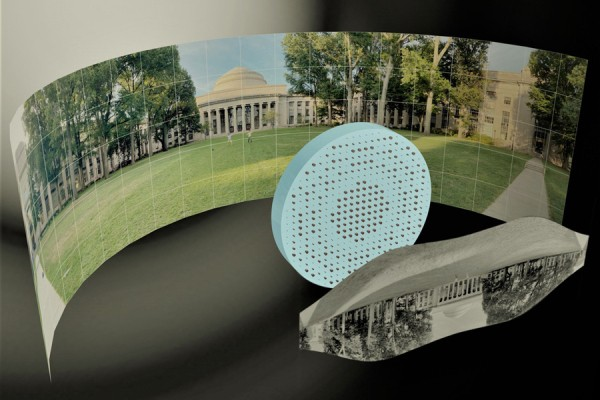 MIT engineers develop a totally flat fisheye lens that could make wide-angle cameras easier to produce