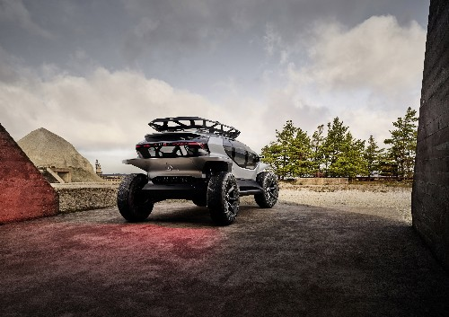 Audi's off-roading electric concept would be perfect for Tatooine