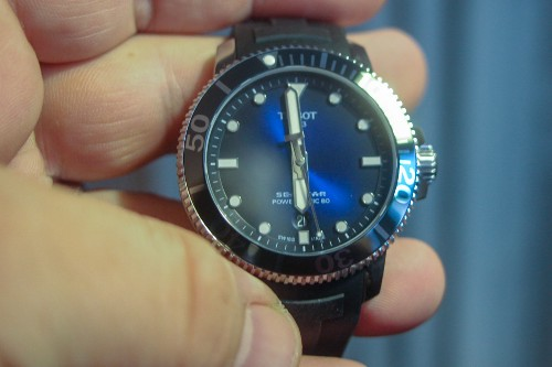 The Tissot Seastar 1000 is a low-cost and high-quality Swiss diver