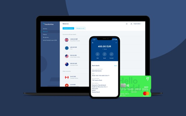 TransferWise begins private launch of its consumer borderless account and bright green debit card – TechCrunch