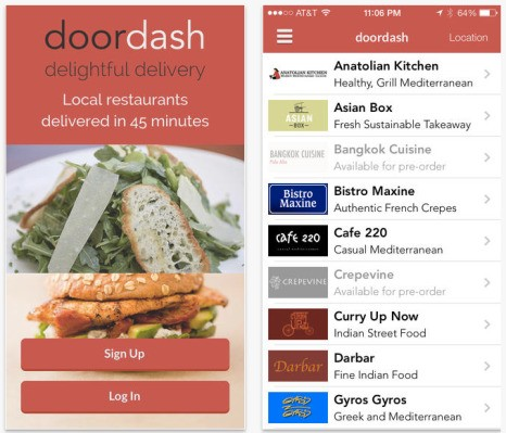Y Combinator-Backed Food Delivery Startup DoorDash Launches In San Jose
