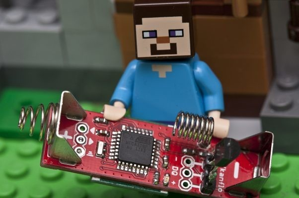 Mad scientist shrinks Arduino to size of an AA battery