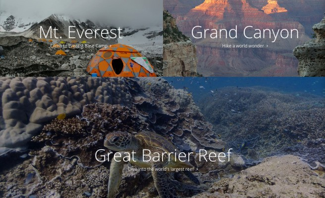 Google Lets You Peek Behind The Scenes Of Its Treks Street View Tours With Stunning Microsites