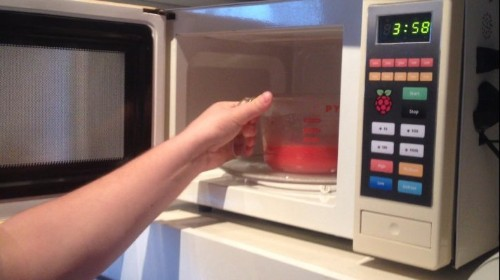 Developer Hacks His Microwave Into The Microwave Of The Future