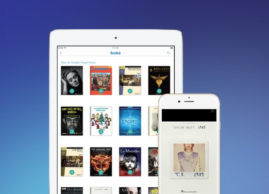 Scribd Adds Sheet Music And Sesame Street To Its Subscription E-Book Service