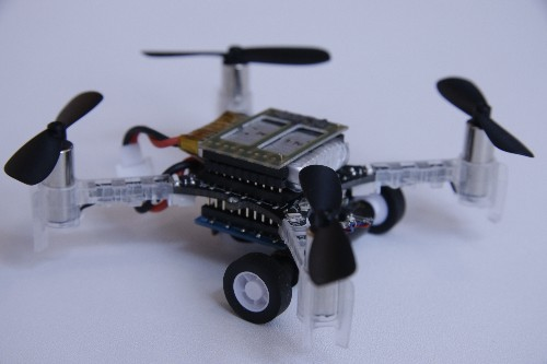 MIT's new drones switch between flying and driving for optimal urban transport