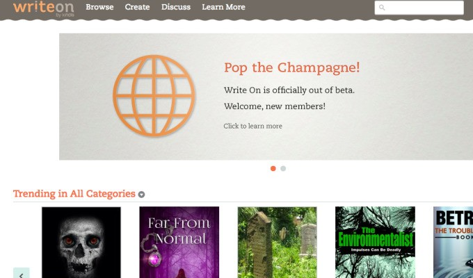 Amazon's 'Write On' Crowd-Publishing Platform Opens To All