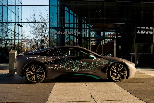 BMW signs on to develop in-car AI and IoT services with IBM's Watson