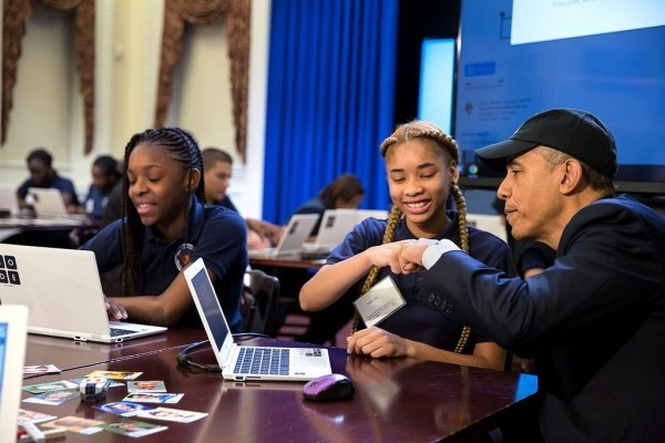 President Obama Wants $4 Billion To Bring Computer Science Education To Every K-12 School