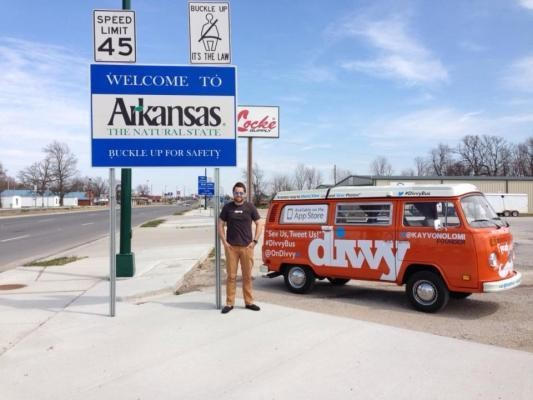 These Guys Are Selling Their Private Photo-Sharing App Divvy From The Back Of A VW Bus