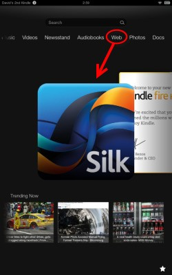 Amazon's Silk Web Browser Gets A Whole New Look