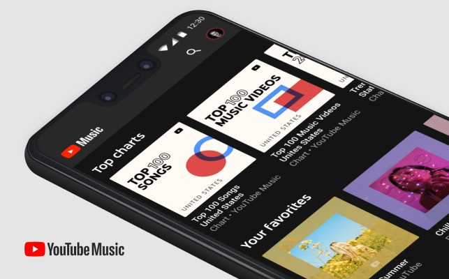 YouTube Music turns its Top Charts into playlists