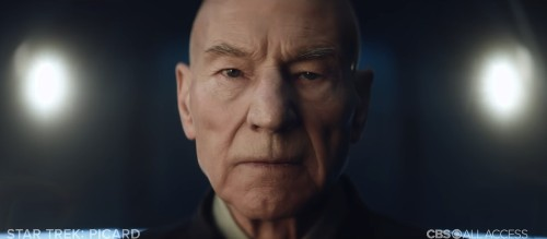 Here's the first teaser trailer for the new Star Trek: Picard series