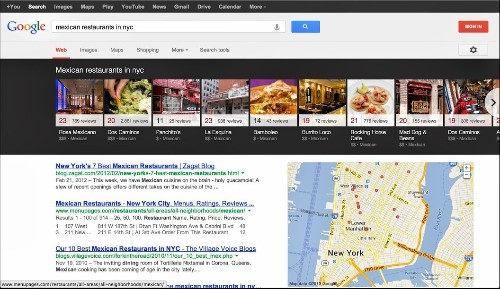 Google Updates Local Search Results On Desktop With Carousel Design