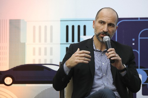 Dara Khosrowshahi says Uber remains committed to India but offers no concrete plans