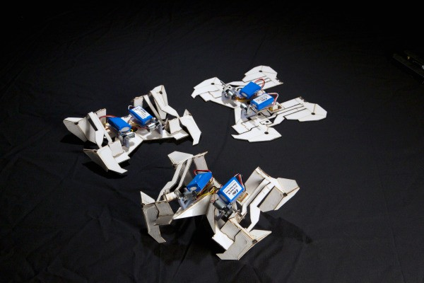 This Piece Of Paper Folds Itself Into A Robot