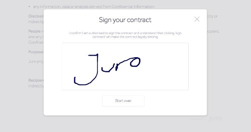 Juro gets $750k to optimize sales contract workflow