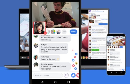 Facebook launches Watch Party for all, tests Live PiP commentating