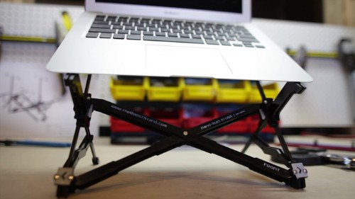 This Tiny, Portable Laptop Stand Will Finally Fix Your Posture