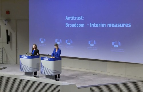 Europe issues interim antitrust order against Broadcom as probe continues