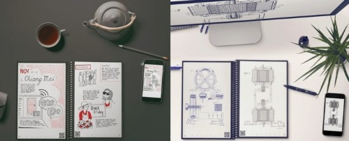 The Everlast Notebook is filled with smart, scannable pages that are also reusable