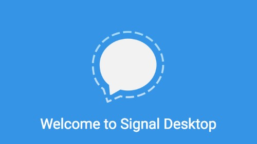 You can use encrypted chat app Signal on desktop now